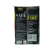 Safe Fire Aanmaakblokjes Bruin achterkant
