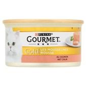 Gourmet Gold Kattenvoer Mousse Met Zalm voorkant