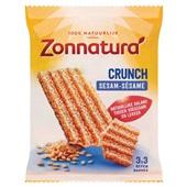 Zonnatura Graanrepen Pinda Crunch voorkant