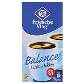 Friesche Vlag Koffiemelk Balance 0% Vet voorkant