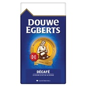 Douwe Egberts snelfilterkoffie aroma rood décafé voorkant