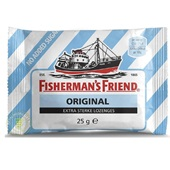 Fisherman's Friend Keelpastilles Original Extra Strong voorkant