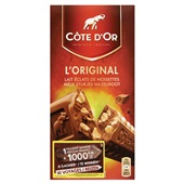 Côte d'Or Tablet Melk-Noot voorkant