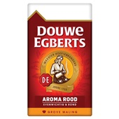 Douwe Egberts grove maling filterkoffie aroma rood voorkant