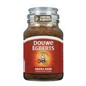 Douwe Egberts oploskoffie Douwe Egberts Aroma Rood oploskoffie, 200 gram voorkant