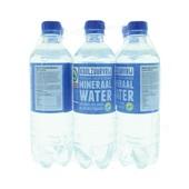 Spar Mineraalwater Blauw voorkant