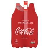 Coca Cola regular 4x1,5 liter voorkant
