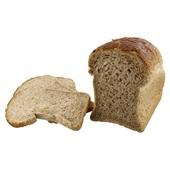 Ambachtelijke Bakker bruin brood half voorkant