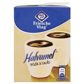 Friesche Vlag Koffiemelk Halvamel voorkant