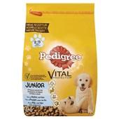 Pedigree Hondenvoer Junior Met Kip En Rijst voorkant