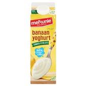 Melkunie Magere Yoghurt Banaan zonder stukjes voorkant