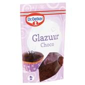 Dr. Oetker Glazuur Chocolade achterkant