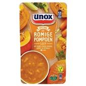 Unox pompoensoep soep in zak  voorkant