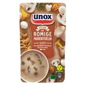 Unox bospaddestoelensoep soep in zak  voorkant