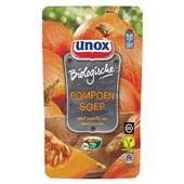Unox pompoensoep bio soep in zak  voorkant