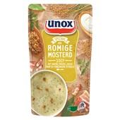 Unox mosterdsoep soep in zak  voorkant