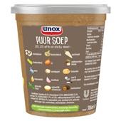 Unox puur soep champignon achterkant