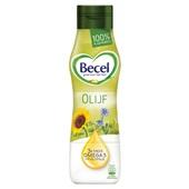 Becel vloeibare margarine met olijfolie voorkant
