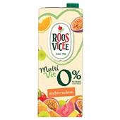 Roosvicee multivit vruchtensap multivrucht 0% voorkant