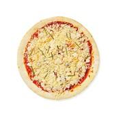 Spar pizza quatro fromaggio achterkant