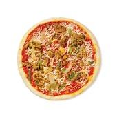 Spar pizza kipshoarma achterkant