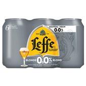 Leffe bier blond 0.0% voorkant