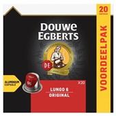 Douwe Egberts capsules  lungo voorkant