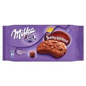 Milka sensations brownie voorkant