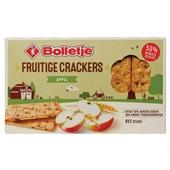 Bolletje fruitige crackers appel voorkant
