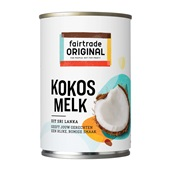 Fair Trade kokosmelk voorkant