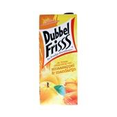 DubbelFrisss vruchtendrank sinaasappel mandarijn voorkant