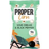 Propercorn popcorn sour cream and black pepper voorkant
