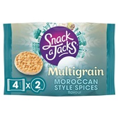 Snack a Jacks Maroccan spices 4-pack voorkant