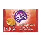 Snack a Jacks Tomato & herbs 4-pack voorkant