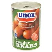 Unox Knakworst Runder achterkant