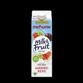 Melkunie Milk & Fruit Drinkyoghurt Aardbei Kers voorkant