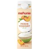 Melkunie Magere Yoghurt Perzik 0% voorkant