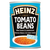 Heinz Witte Bonen in Tomatensaus voorkant