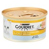 Gourmet Gold Kattenvoer Mousse Met Tonijn achterkant