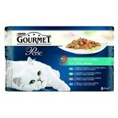 Gourmet Perle Kattenvoer Vis Delicatesse voorkant