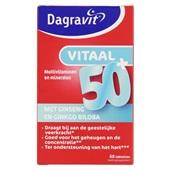 Dagravit Vitaminen En Mineralen Vitaal 50+ voorkant