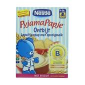 Nestlé Pyjamapapje Babyvoeding Onbijt Biscuits voorkant