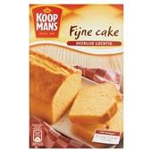 Koopmans Bakmix Fijne Cake voorkant