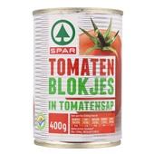 Spar Tomatenblokjes voorkant