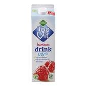 Melkan 0% Vet Drinkyoghurt Framboos voorkant