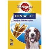 Pedigree Hondensnack Dentastix Medium Multipak voorkant