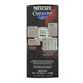 Nescafé Koffie Cappuccino achterkant
