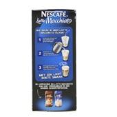 Nescafé Oploskoffie Latte Macchiato achterkant