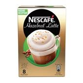 Nescafé Koffie Latte Hazelnoot voorkant
