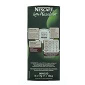 Nescafé Koffie Latte Hazelnoot achterkant